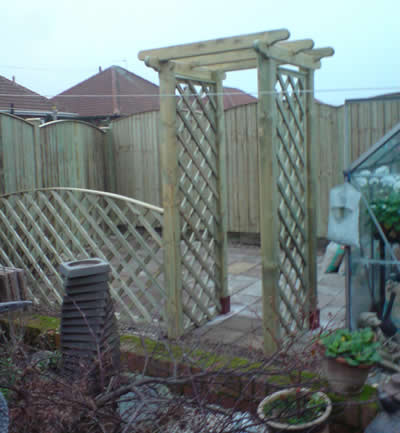 Arches Amp Pergolas Sandalwood Gates And Timber Products