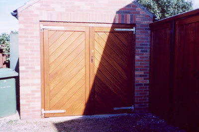 Garages Sandalwood Gates And Timber Products For The